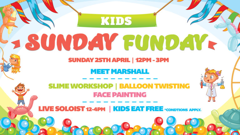 Kids Sunday Funday
