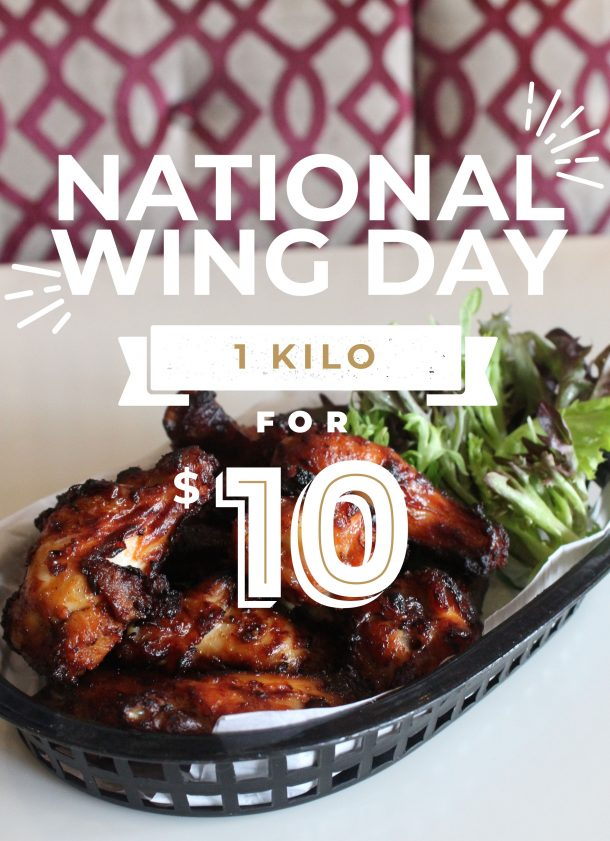 National Wing Day Macarthur Tavern